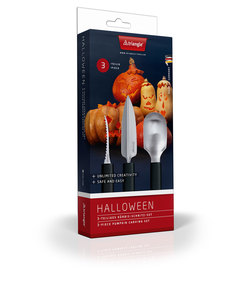 Triangle Pumpkin Carving Tool [3 Piece Set]