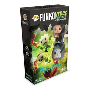 Funko Pop Funkoverse Strategy Game Rick and Morty 100 Base Set