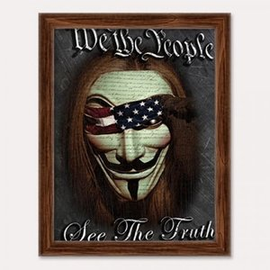 3D Art We The People Poster Art