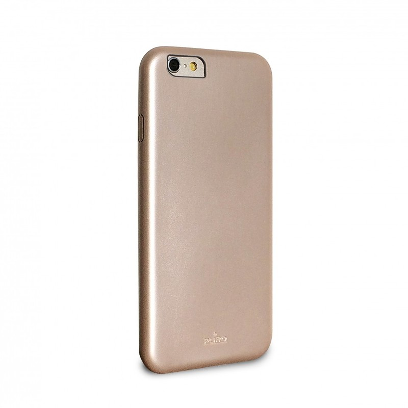 Puro Vegan Eco-Leather Cover Gold Iphone 6
