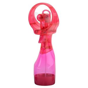 O2Cool Deluxe Misting Fan Raspberry