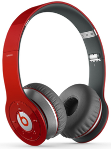Beats Wireless Red Headphones
