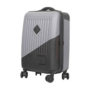 Herschel Trade Power Carry-On Rolling Luggage Grey/Black 34L