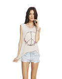 Chaser Peace Wreathe Women Antique White L