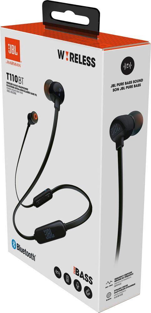 Jbl T110 Black Bluetooth In Ear Earphones In Ear Headphones