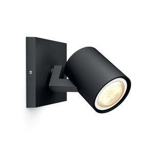 Philips Hue White Ambiance Runner 5.5W GU10 Single Spot Light Black