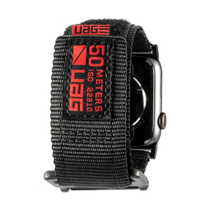 UAG 44/42mm Active Strap Black for Apple Watch