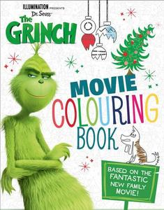 The Grinch Movie Colouring Book Movie tie-in