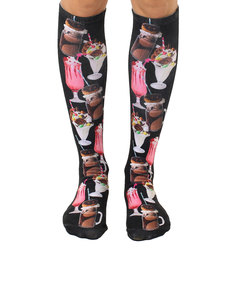 Living Royal Milkshakes Knee High Socks