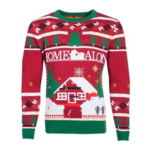 Difuzed Fox Home Alone Knitted Christmas Jumper