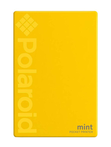 Polaroid Mint Instant Digital Pocket Printer Yellow [For iOS and Android]