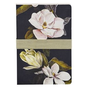 Ted Baker A5 Notebook/Sticky Notes Opal Black