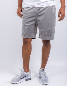 Cayler & Sons New Age Knitted Velourshorts Grey