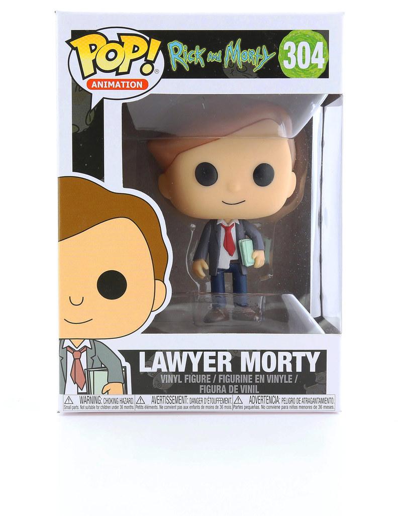 9914babd6f3 Funko Pop Rick   Morty S3 Lawyer Morty Vinyl Figure