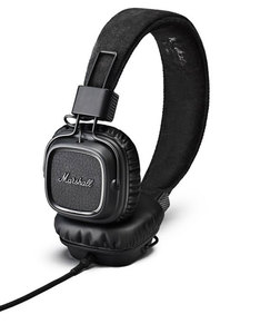 Marshall Major II Pitch Black On-Ear Headphones
