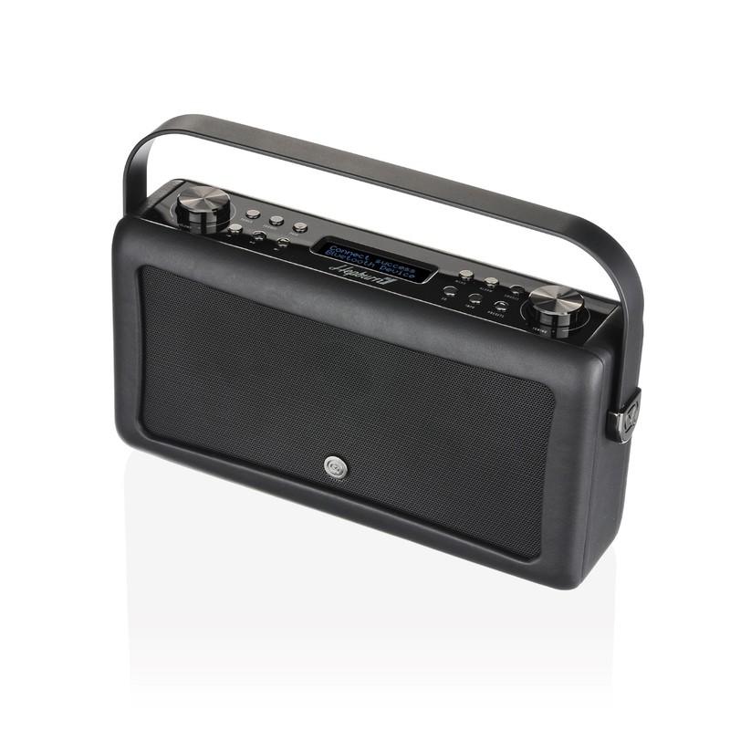 VQ Hepburn Mk II Black DAB Digital Radio with Bluetooth