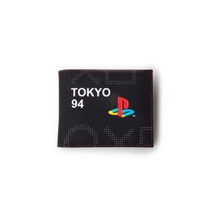 Sony Playstation Men's Bifold Wallet Black