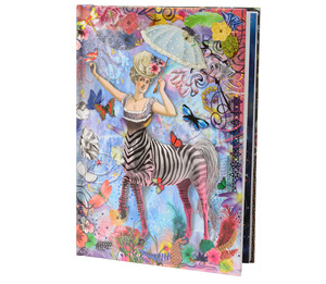 Christian Lacroix B5 Zebra Girl Notebook