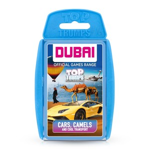 Winning Moves Top Trumps Dubai Transport