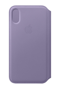 Apple Leather Folio Lilac for iPhone XS