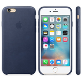 Apple Leather Case Midnight Blue iPhone 6S
