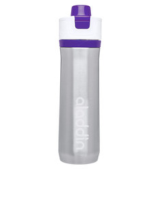 Aladdin Active Hydration Stainless Steel Vacuum Insulated Water Bottle Purple 0.6L