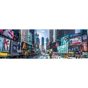 New York Times Square Panoramic Poster [30.5 x 91.5 cm]