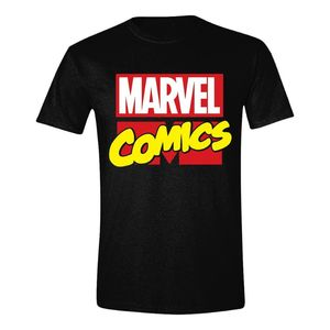 d0762720 Time City Marvel Comics Classic Logo Men's T-Shirt Multicolor