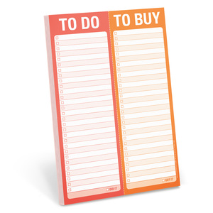 To Do/Buy Perforated Pad