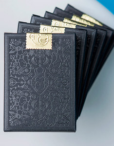 THEORY11 MAILCHIMP BLACK PLAYING CARDS