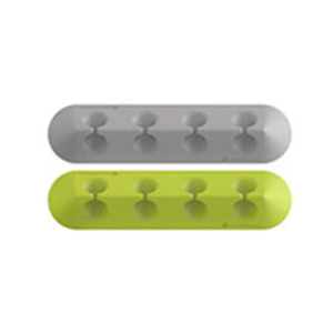 Lead Trend Cable Series Cable Holder T Grey/Green [2 Pack]