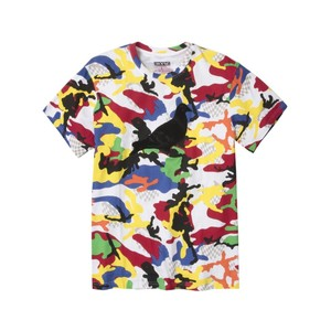 Staple Luz Camo Short-Sleeved Men'S T-Shirt White M