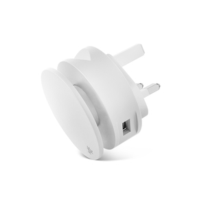 Usbepower Aero Mini White Multi-Functional Wall Charger