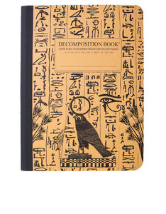 Decomposition Notebook Hieroglyphics One Color [Large]