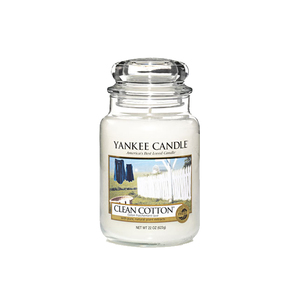 Yankee Candles Clean Cotton Classic Large Jar Candle
