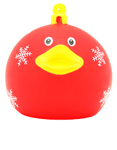 Lilalu Red X'mas Ball Duck