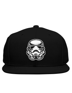Dedicated Star Wars Unconstructed Trooper Head Black Cap