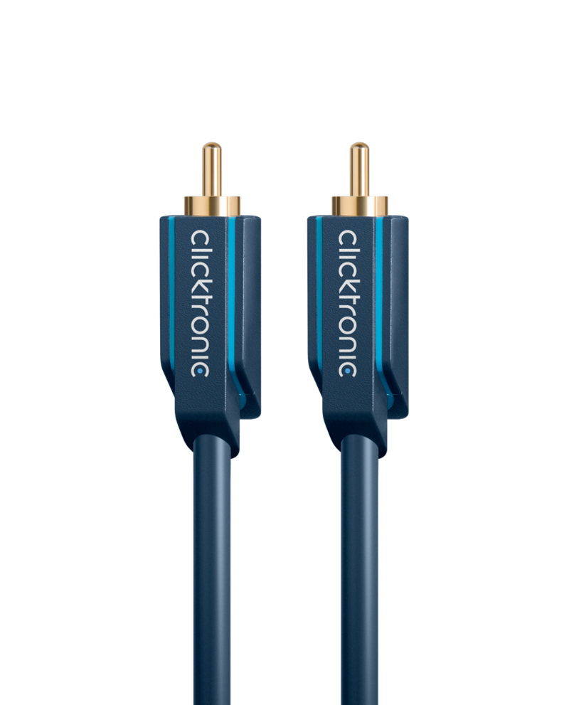 Clicktronic Rca Audio Cable 2M