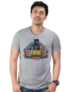 CID Thor Ragnarok Rock Foil Grey Unisex Sports T-Shirt