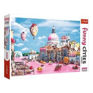 Trefl Funny Cities Sweets In Venice  Jigsaw Puzzle [1000 Pcs]