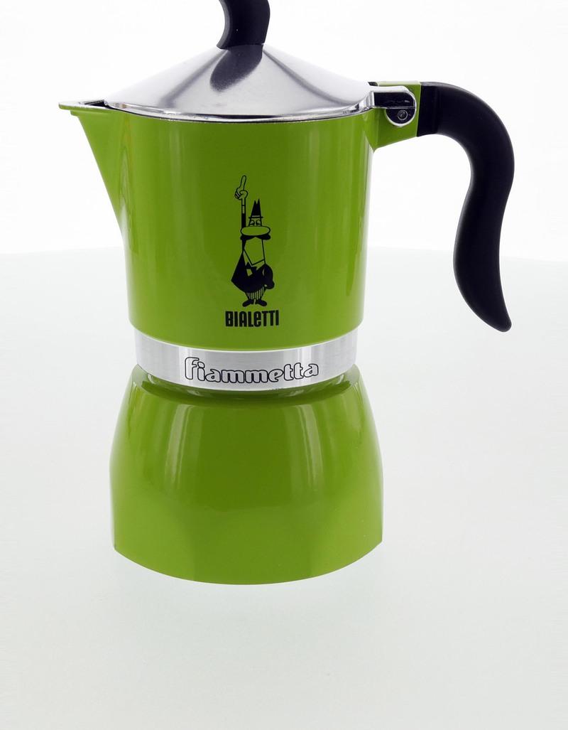 Espresso Coffee Green ~ Bialetti fiammetta espresso maker cups green coffee