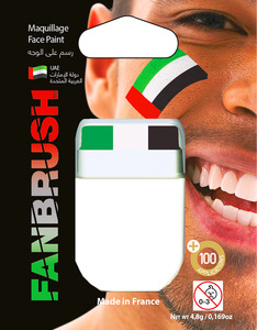 Fanbrush United Arab Emirates Flag Face Paint