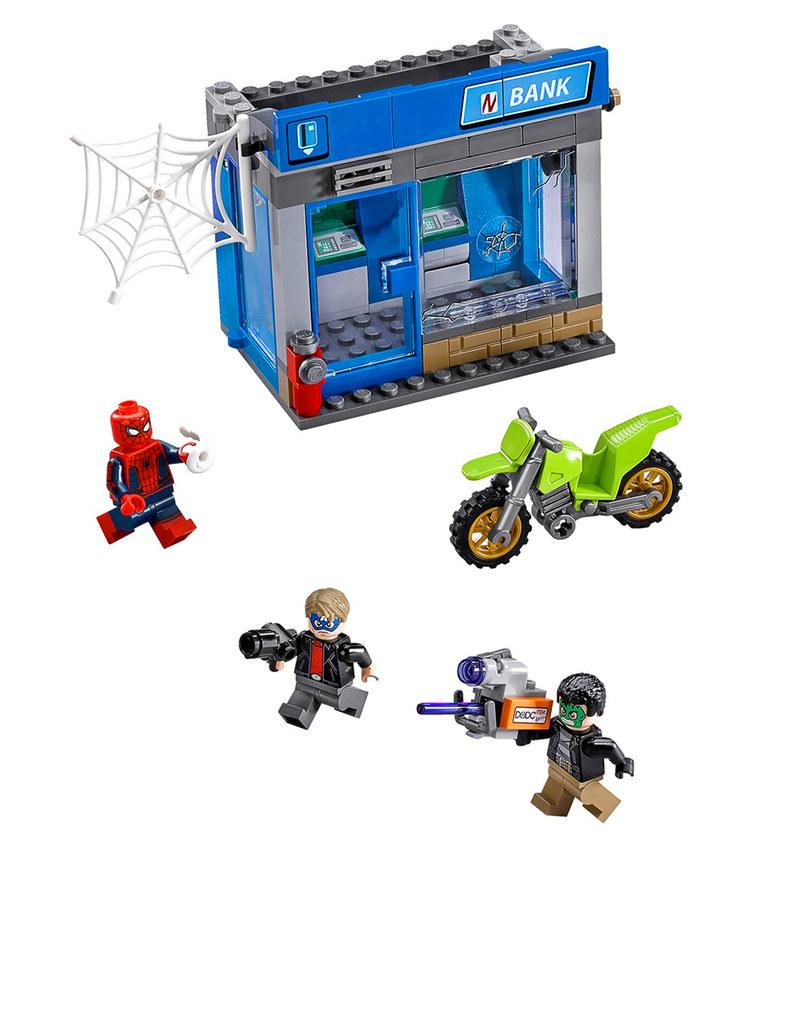 Lego Confidential Spider-Man 1 V29 76082