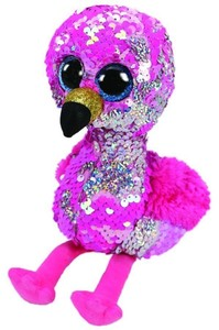 Beanie Boos 6 Inch Flippable Flamingo Pinky