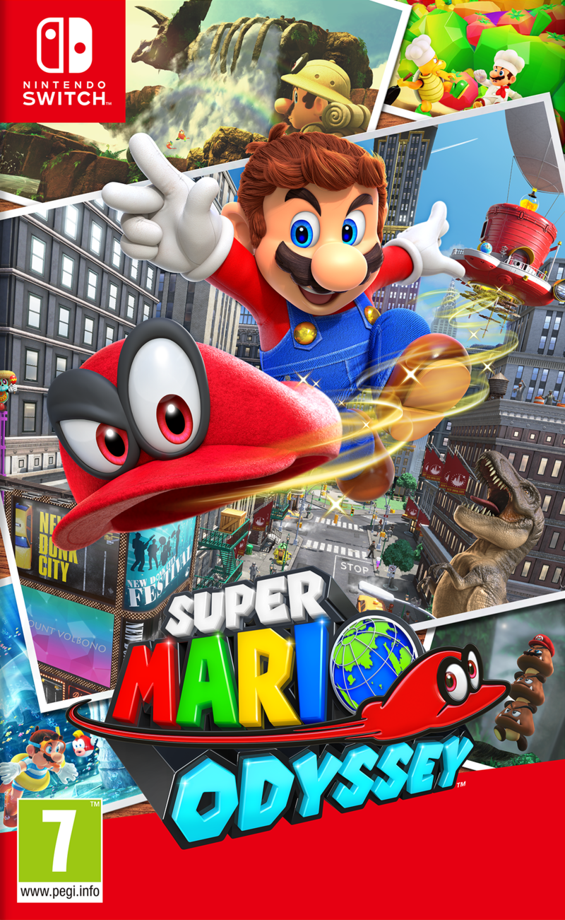 Super Mario Odyssey Pre Owned Nintendo Switch Pre Owned Games Pre Owned Games Gaming Virgin Megastore