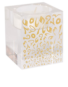 Silsal Design Accents Candle Holder Gold