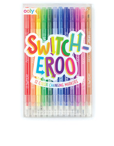 OOLY Switch Eroo Color Changing Markers [Set of 12]