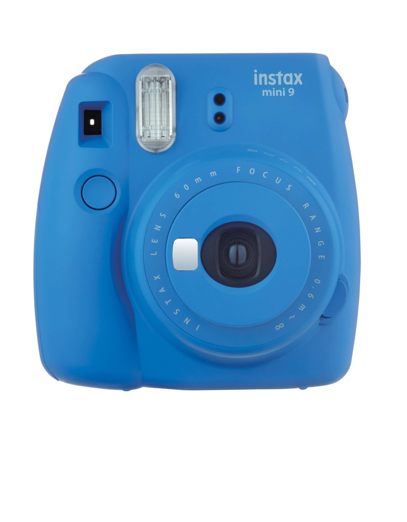 Fujifilm Instax Camera Mini9 Cobalt Blue +Instax Mini Film Single ...