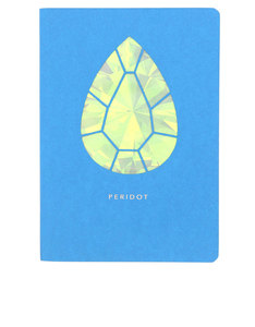 Portico Design Peridot Birthstone Turquoise A6 Notebook
