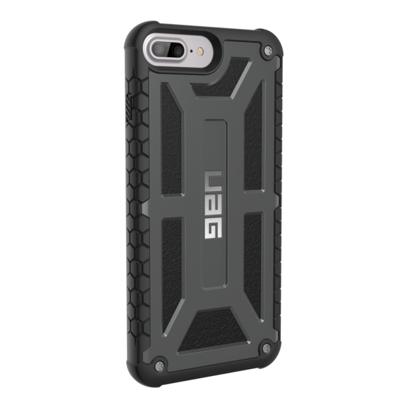new product 621ab e5848 UAG Monarch Case Graphite/Black For iPhone 8/7 Plus